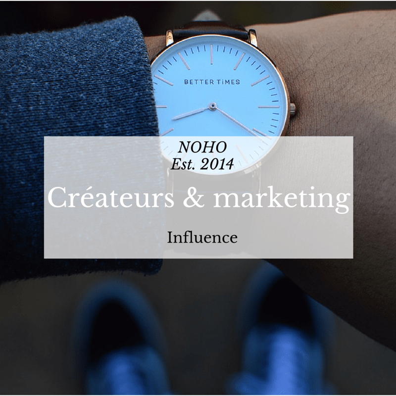 Montres homme marketing