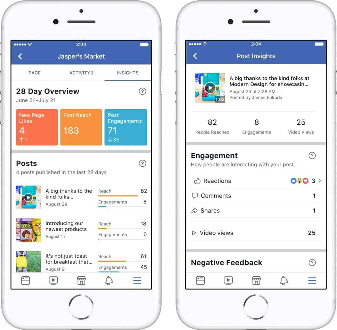 facebook Insights 2